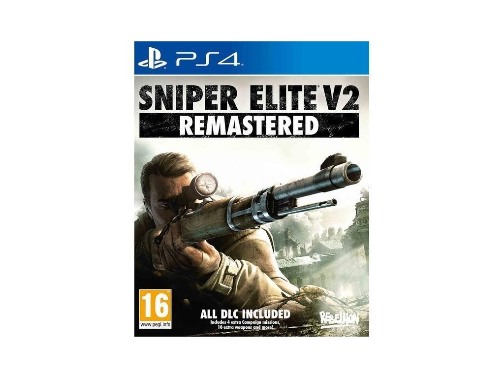 Sniper Elite V2 Remastered  PS4 + dárek