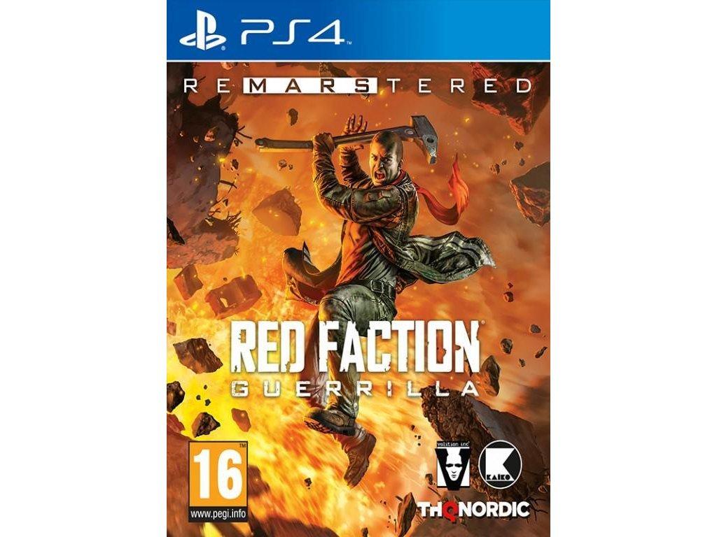 Red Faction:Guerrilla Re-Mars-tered PS4 + dárek
