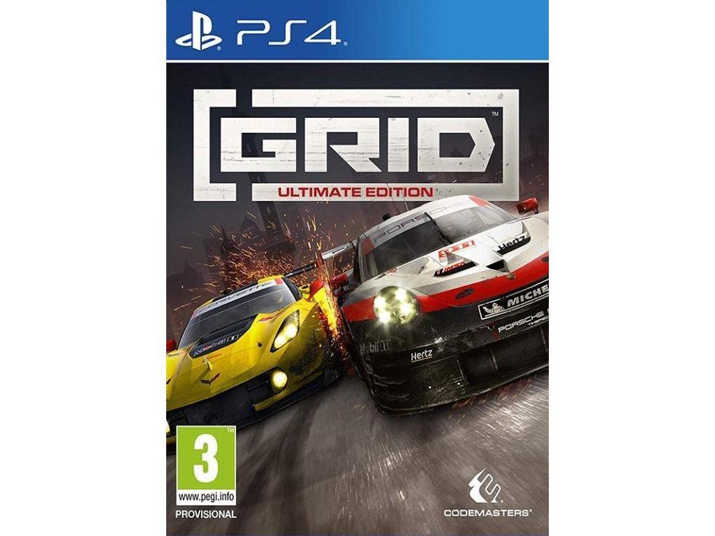 GRID (Ultimate Edition) PS4 + dárek