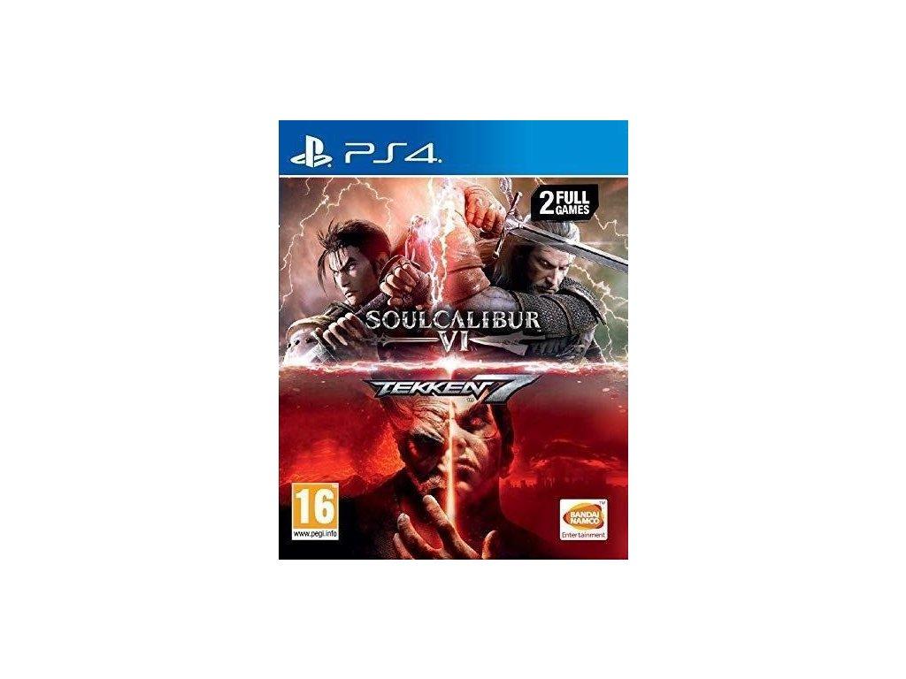 Tekken 7 + SoulCalibur 6 PS4 + dárek