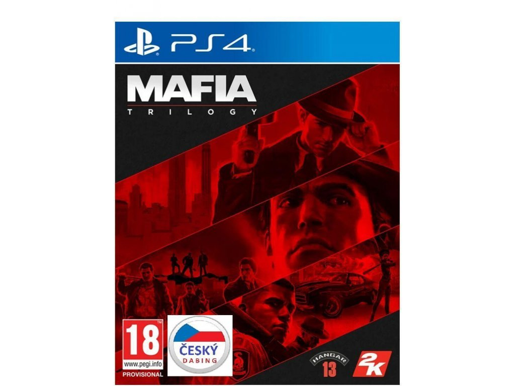 Mafia Trilogy CZ PS4 + dárek