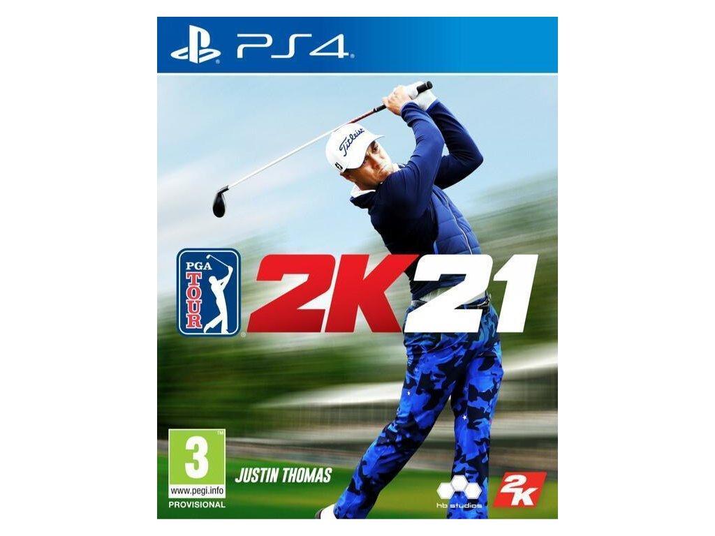 PGA Tour 2K21 PS4 + dárek