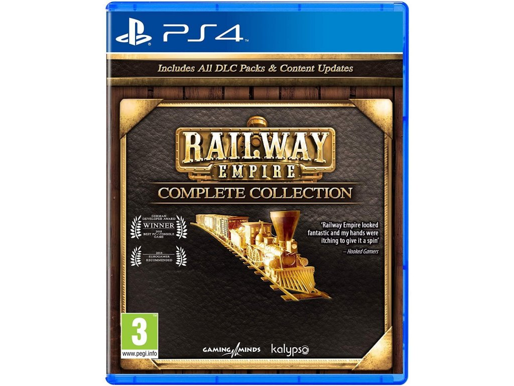 Railway Empire (Complete Collection) PS4 + dárek