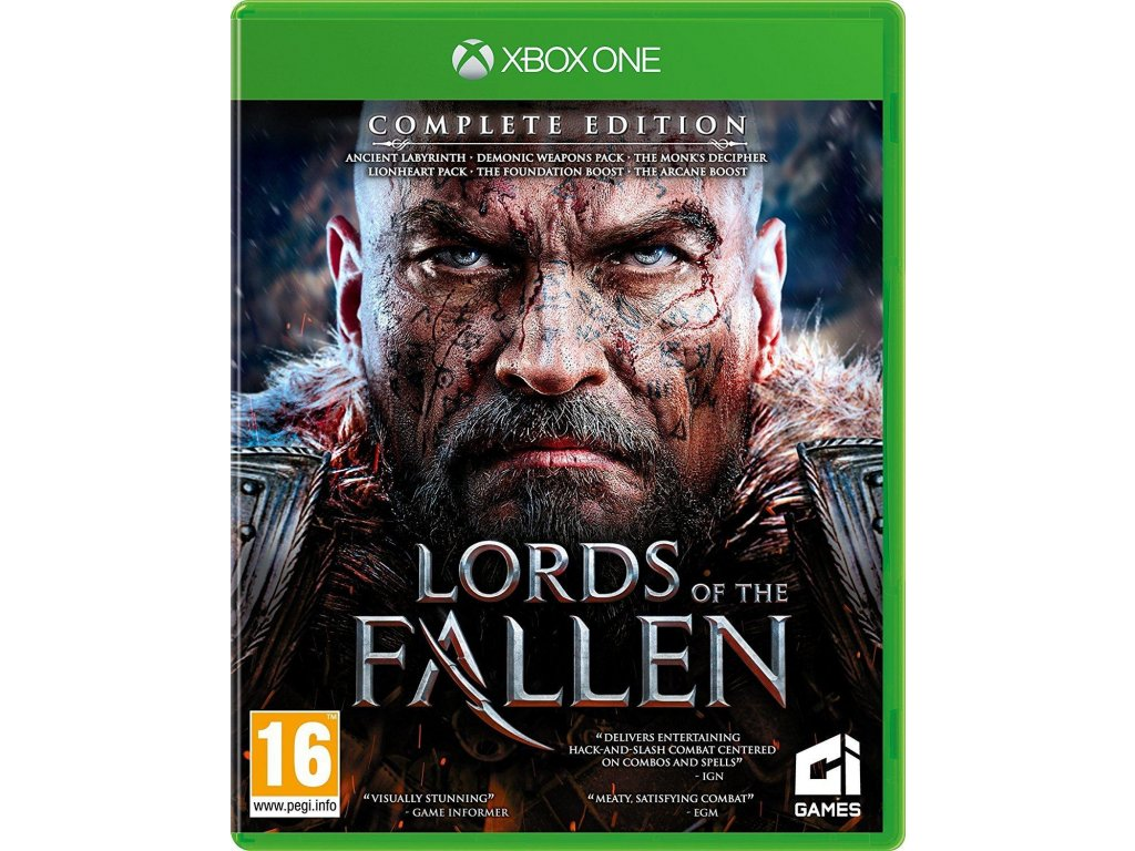 Lords of the Fallen (Complete Edition) XOne + dáre