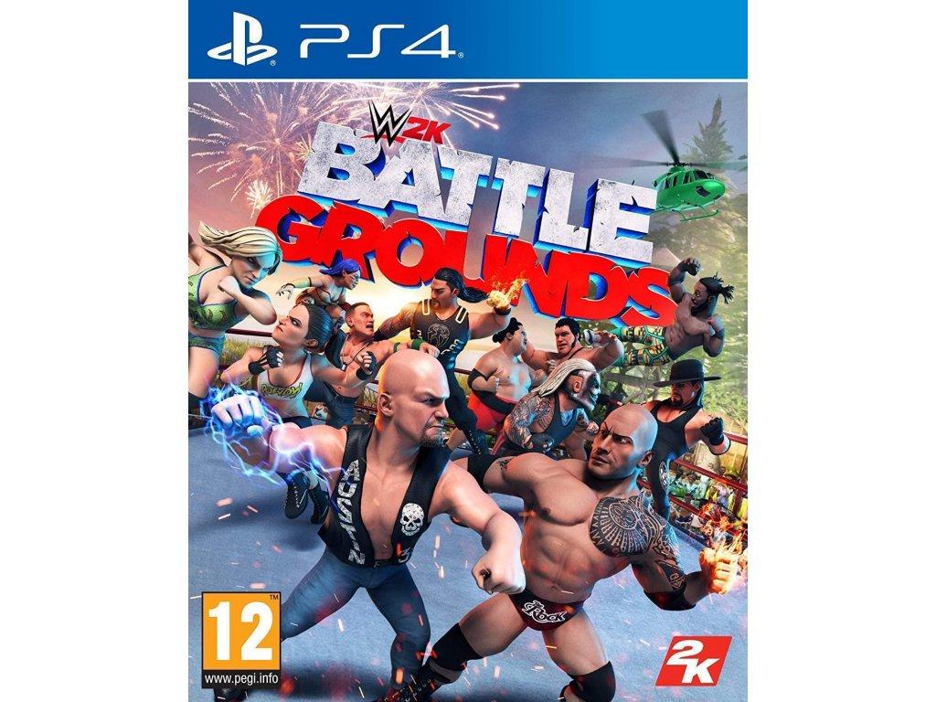 WWE 2K Battlegrounds PS4 + dárek