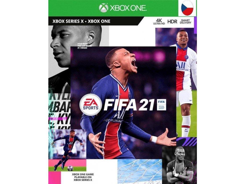 Fifa 21 XOne CZ + dárek