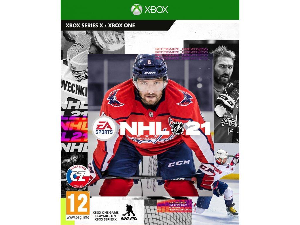 NHL 21 XOne CZ + dárek