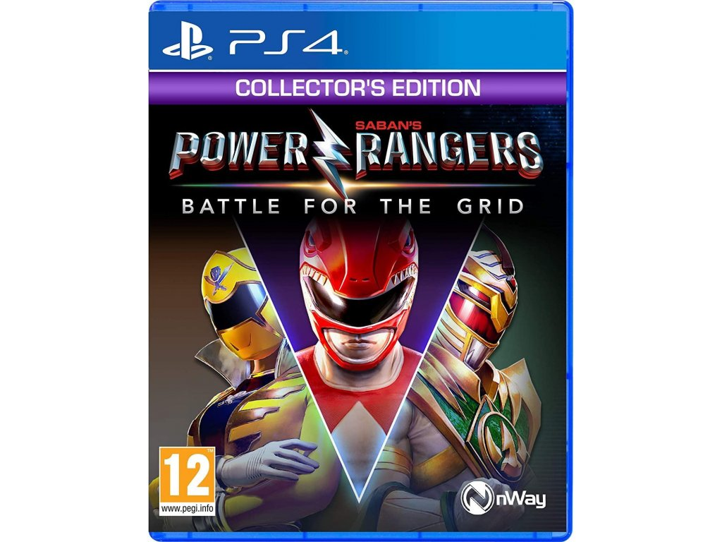 Power Rangers:Battle for the Grid CE  PS4 + dárek