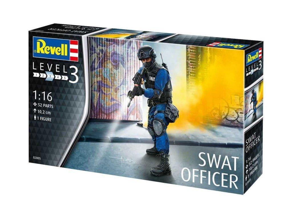 Revell Plastic ModelKit figurka 02805 SWAT