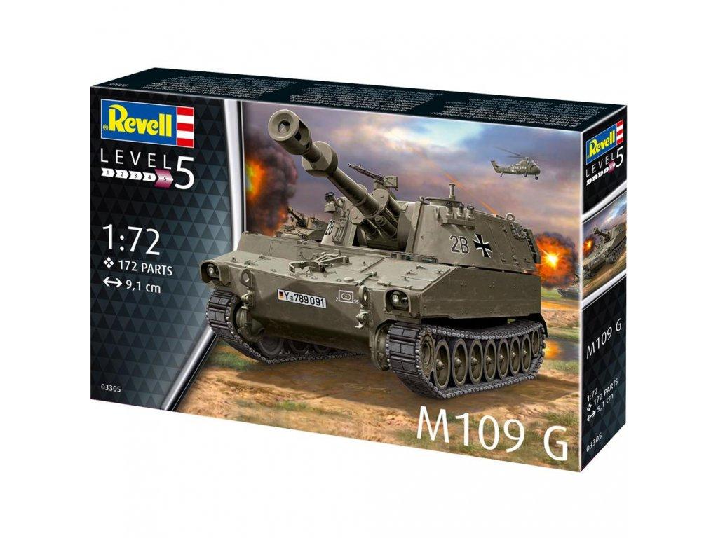 Revell Plastic ModelKit tank 03305 M109