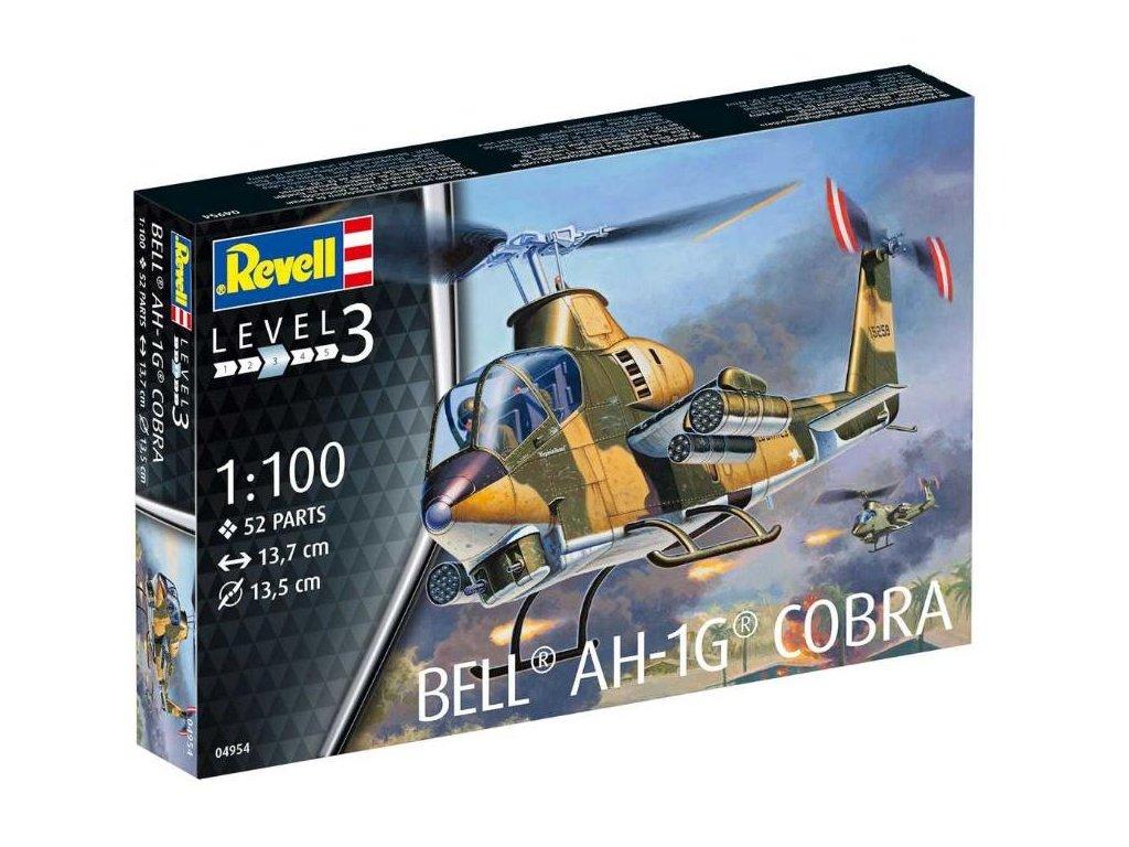 Revell Plastic ModelKit vrtulník 04954 Bell Cobra