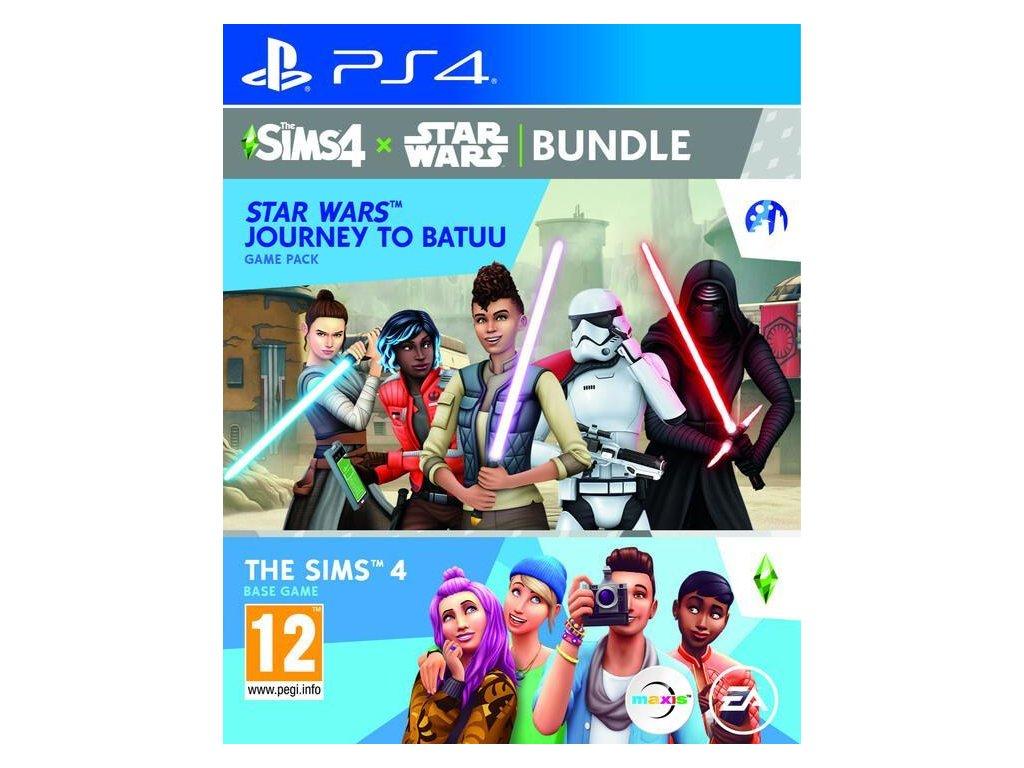 The Sims 4 + rozšíření Star Wars:Výprava na Batuu  PS4   + dárek