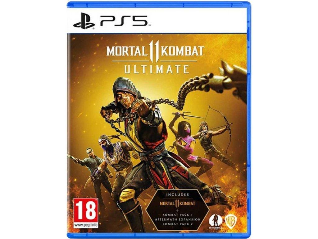 Mortal Kombat 11 (Ultimate Edition) PS5 + dárek