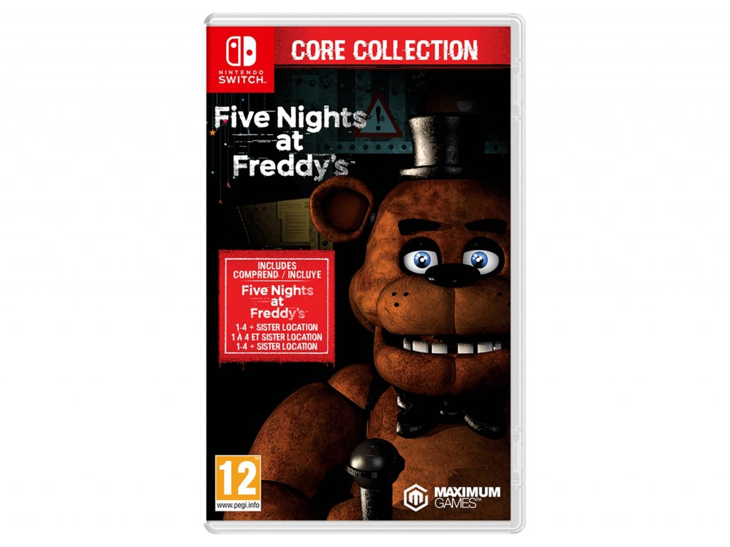 Five Nights at Freddy´s:Core Collection (SWITCH) + dárek