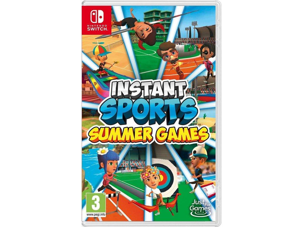 Instant Sports:Summer Games (SWITCH) + dárek