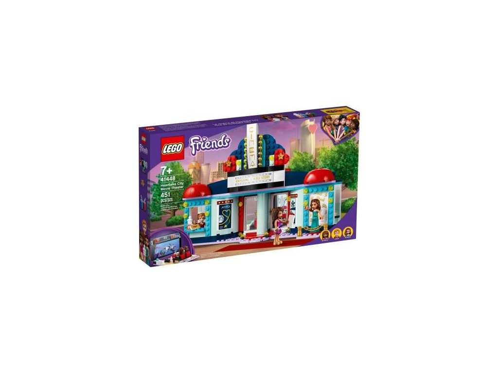 Lego Friends 41448 Kino v městečko Heartlake