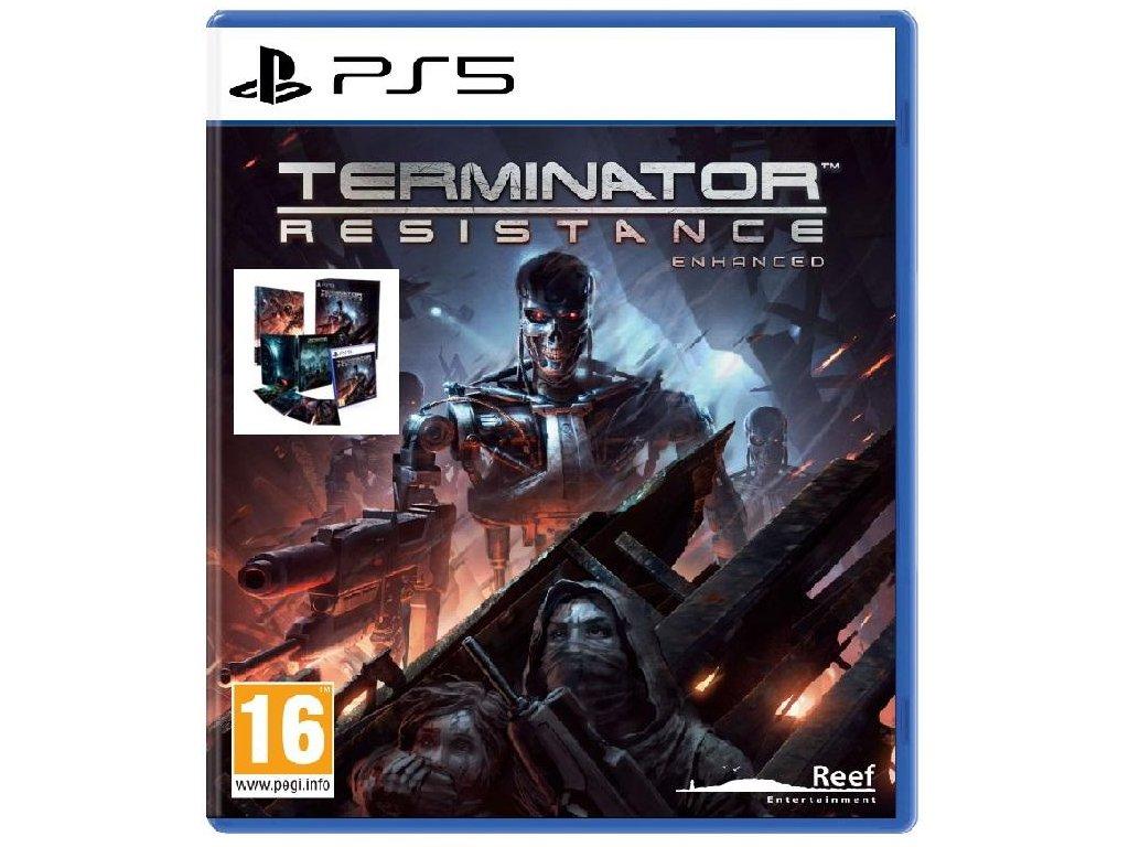 Terminator:Resistance Enhanced (Collector´s Edition) PS5 + dárek