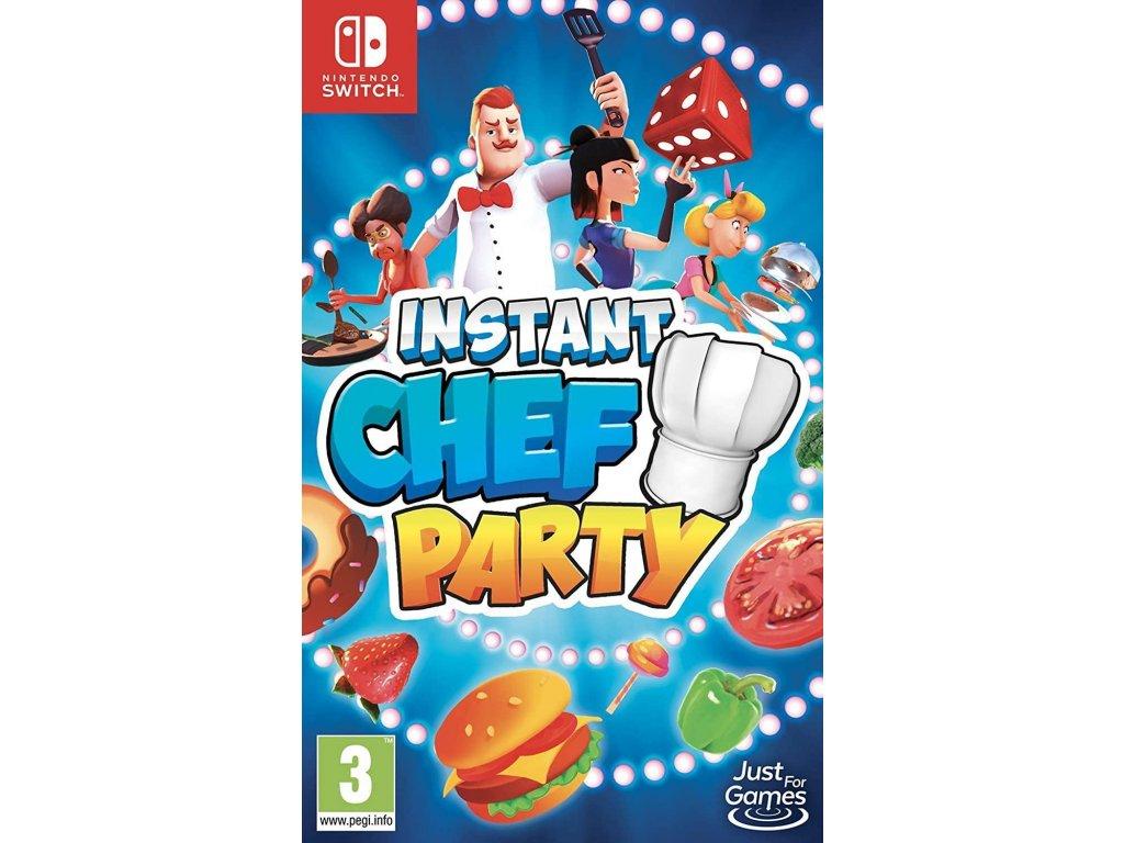 Instant Chef Party (SWITCH) + dárek