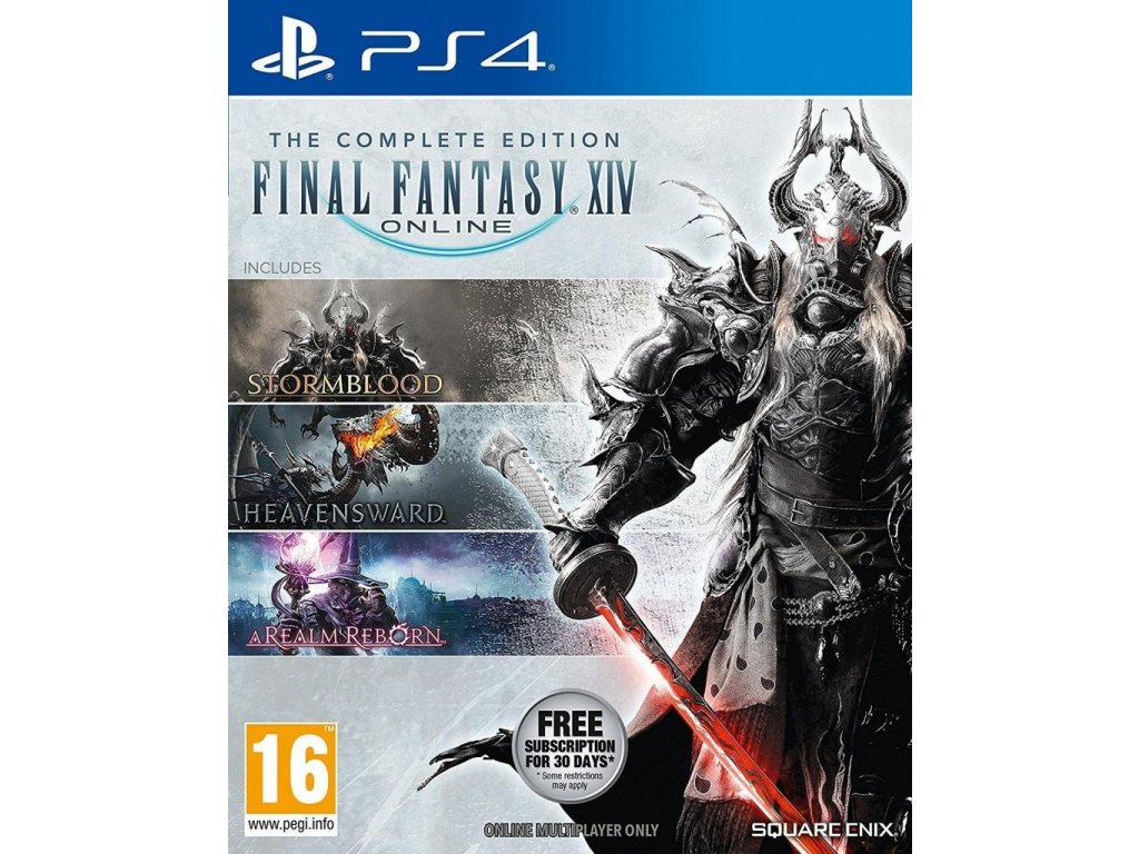 Final Fantasy XIV (The Complete Edition) PS4