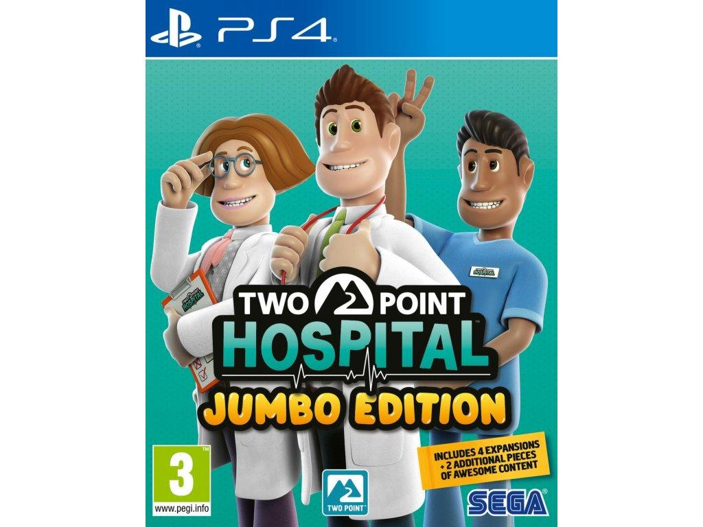 Two Point Hospital (Jumbo Edition) PS4 + dárek