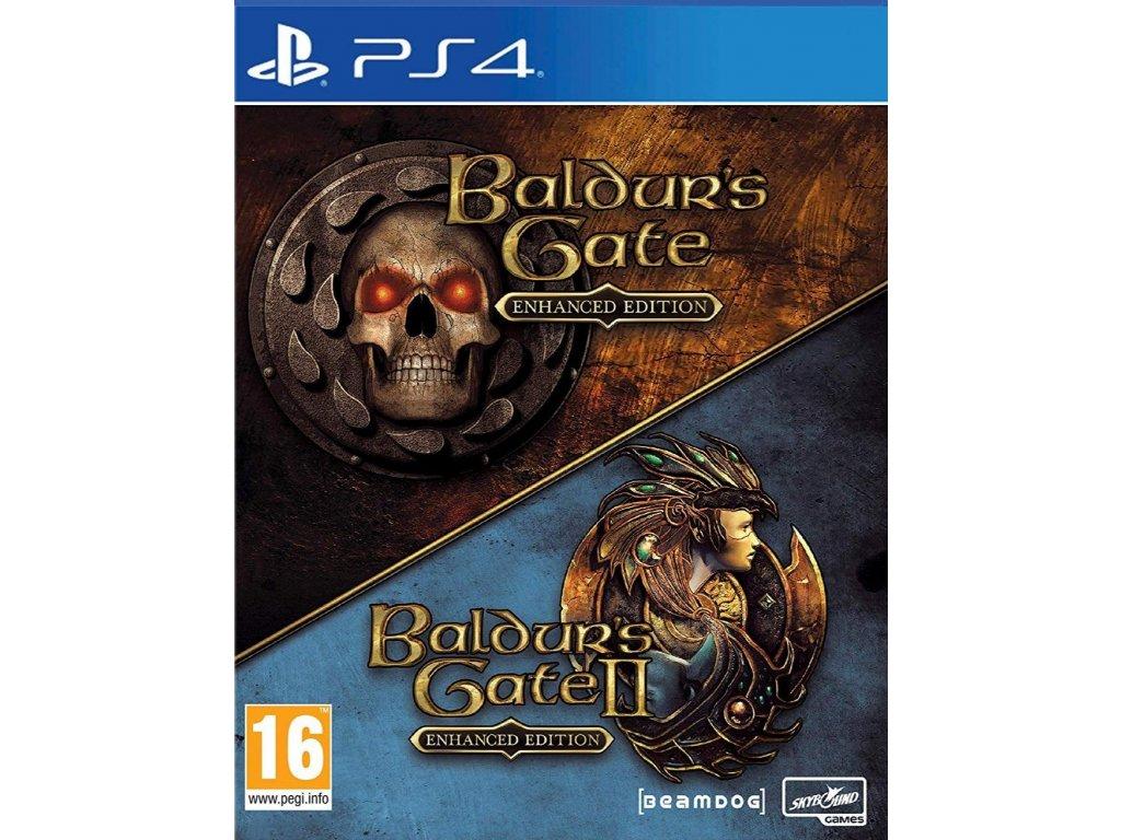 Baldurs Gate I & II:Enhanced Edition Collectors  PS4 + dárek