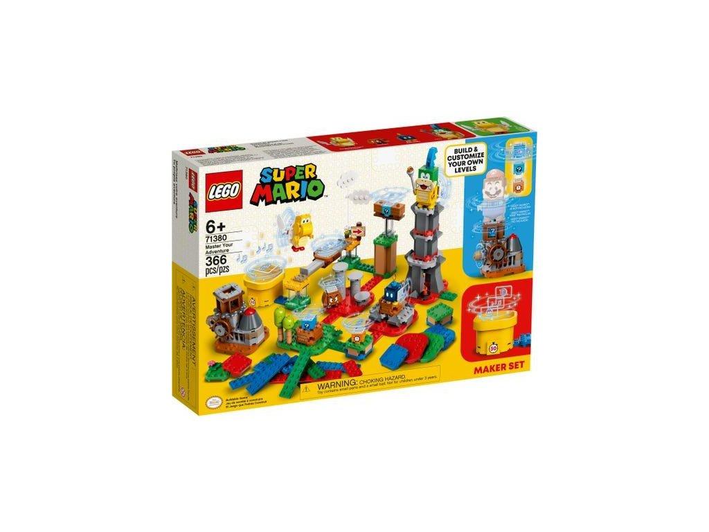 Lego Super Mario 71380 Set pro tvůrce - mistrovská