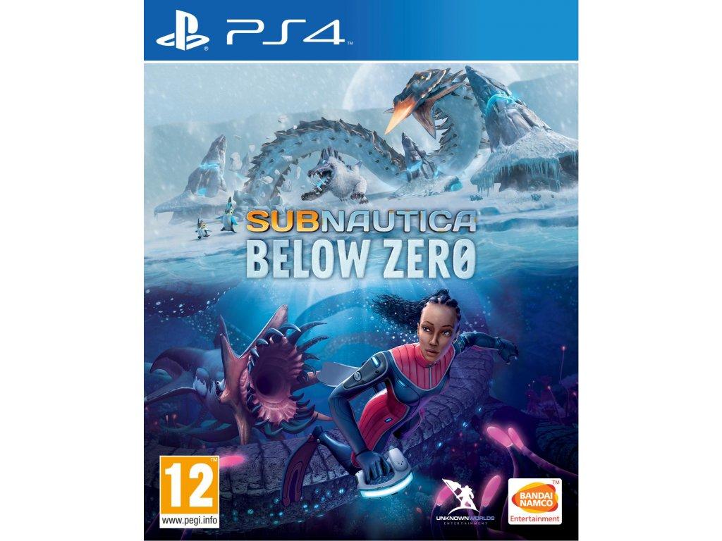Subnautica:Below Zero PS4 + dárek