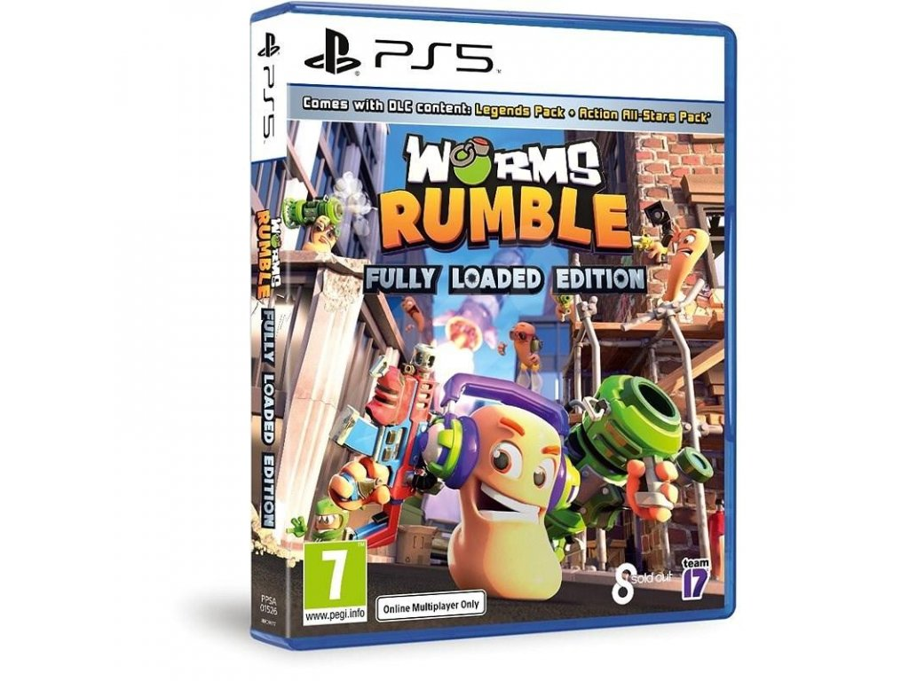 Worms Rumble (Fully Loaded Edition) PS5 + dárek