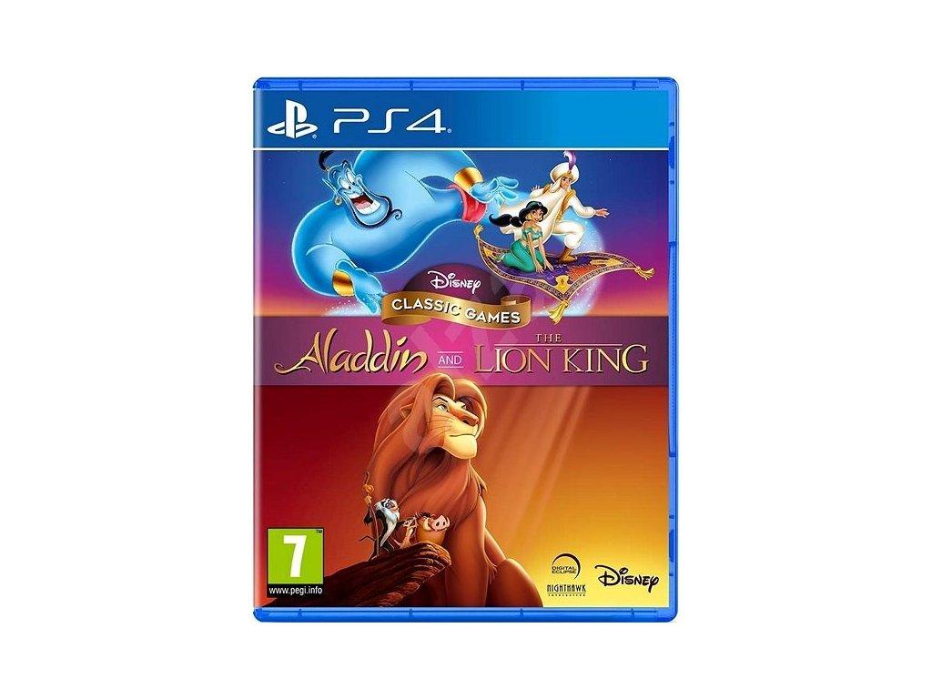 disney clasic games aladin lion ps4
