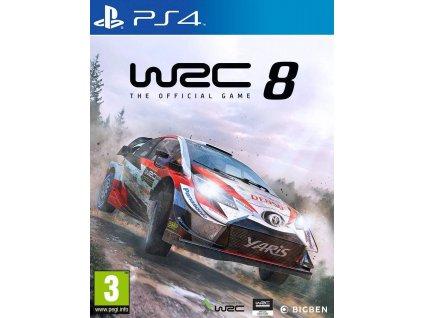 WRC 8:The Official Game PS4 + dárek