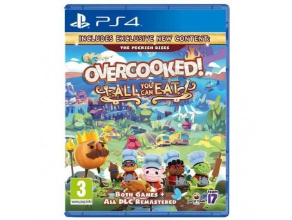 Overcooked:All You Can Eat PS4 + dárek
