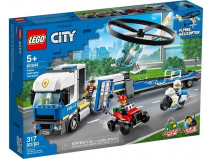 Lego City 60244 Preprava policejniho vrtulniku