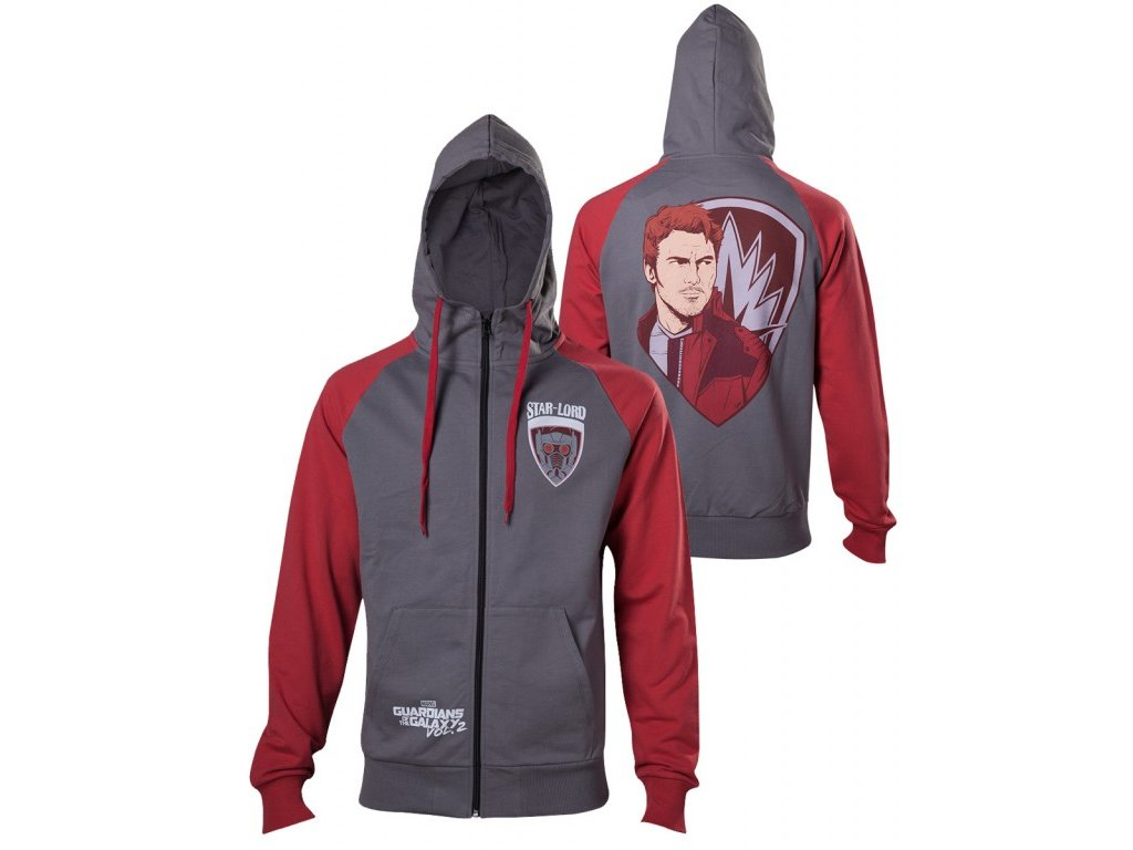Guardians of the Galaxy hoodie - Starlord (Velikost XL)