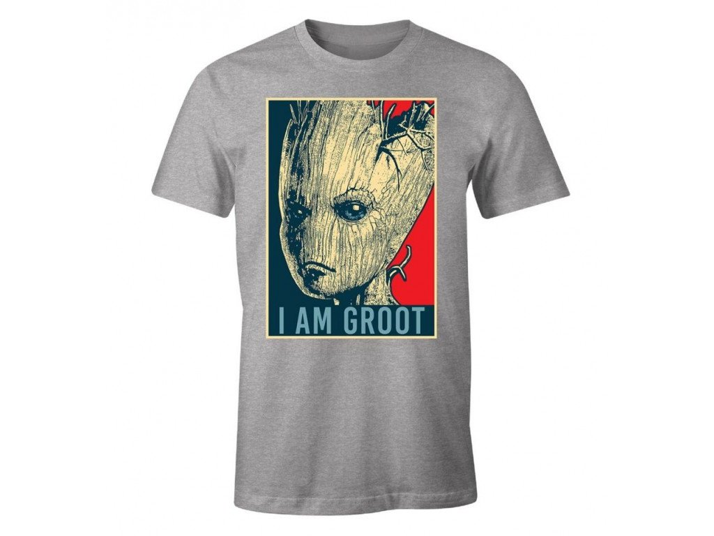Guardians of the Galaxy t-shirt - Groot Hope (Velikost XL)