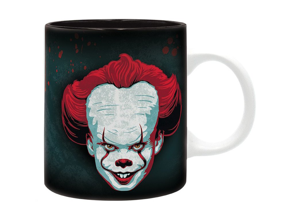it mug 320 ml pennywise subli with box x2
