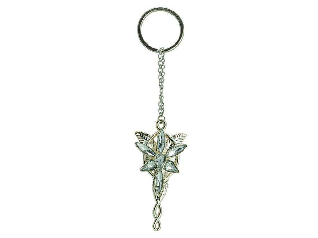 lord of the rings keychain 3d evening star x2