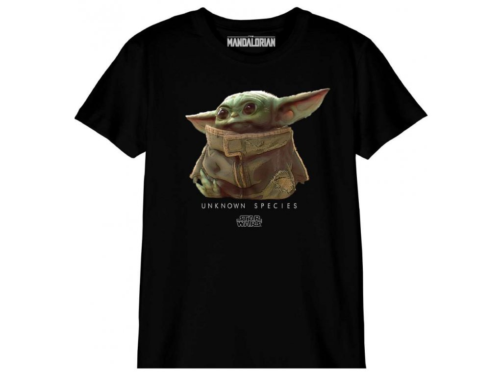 star wars the mandalorian kid s t shirt baby yoda unknown species