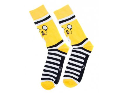 Adventure Time socks - Jake (Velikost 43/46)