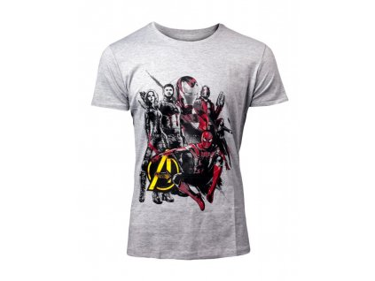 Avengers Infinity War t-shirt Characters (Velikost XL)