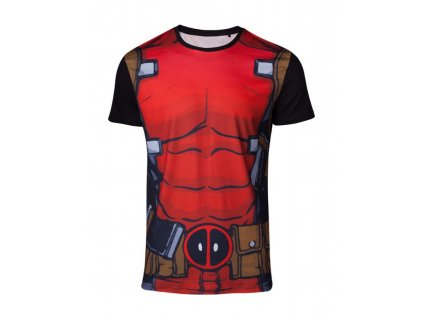 Deadpool t-shirt - Sublimation Suit (Velikost XL)