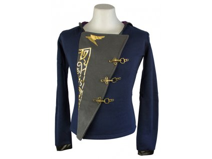 Dishonored ladies hoodie - A True Empress Outfit (Velikost XL)