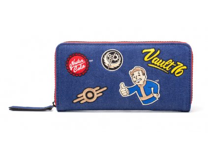2783 fallout 76 damska penezenka denim patches