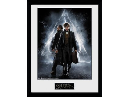 2678 fantastic beast zaramovany plakat one sheet