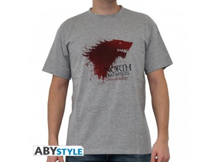 Game of Thrones t-shirt - The North (Velikost XXL)