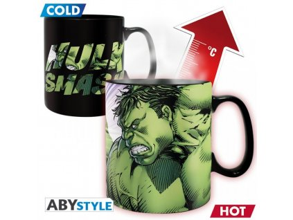 2273 marvel king size mug hulk heat change