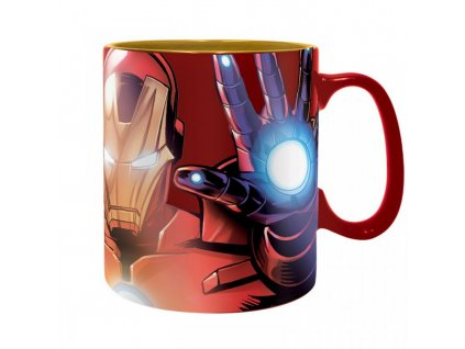 2276 marvel king size mug iron man foil