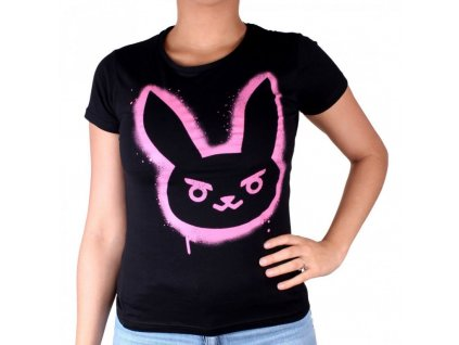 Overwatch ladies t-shirt D.Va Spray (Velikost XL)