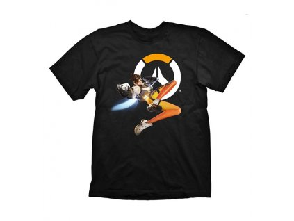 Overwatch t-shirt - Tracer (Velikost XXL)