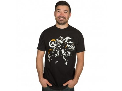 Overwatch t-shirt Justice Will Be Done (Velikost M)