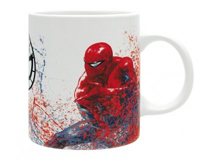 2318 spiderman vs venom mug